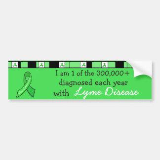 Ich bin 1 der 300.000 bestimmt mit Lyme-Borreliose Autoaufkleber
