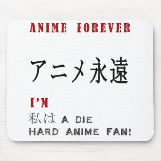 Ich bin a die harten Animefan Mousepad