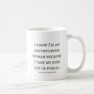 Ich bin abenteuerliche Frau Kaffeetasse