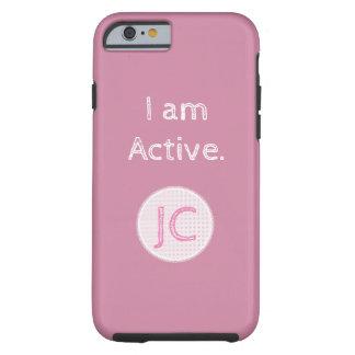 Ich bin aktives tough iPhone 6 hülle