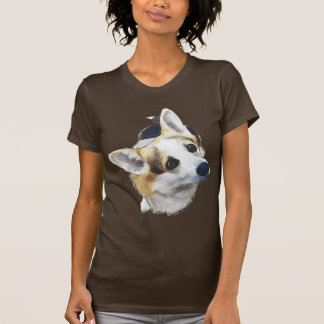 Ich bin alle Ohren - das Bio Walisercorgi-Shirt! T-Shirt