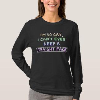 Ich bin, also Homosexuelles, kann ich ein gerades T-Shirt