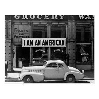 Ich bin American, 1942 Postkarte