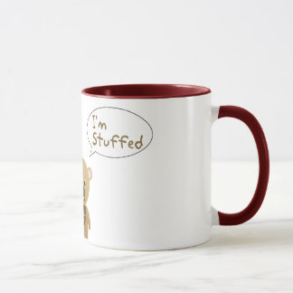 Ich bin angefüllte Teddy-Bärn-Tasse Tasse