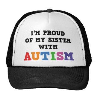 Ich bin auf meine Schwester mit Autismus stolz Retrokultcap