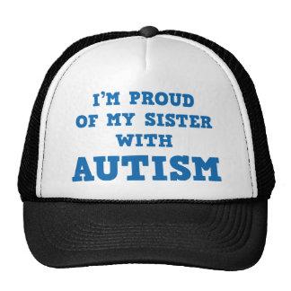 Ich bin auf meine Schwester mit Autismus stolz Truckercap