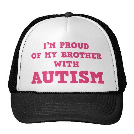Ich bin auf meinen Bruder mit Autismus stolz Baseball Mützen