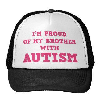 Ich bin auf meinen Bruder mit Autismus stolz Retrokappe