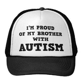 Ich bin auf meinen Bruder mit Autismus stolz Retromütze