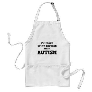 Ich bin auf meinen Bruder mit Autismus stolz Schürze
