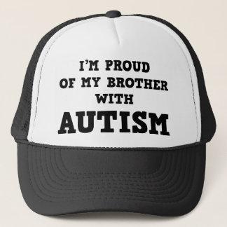 Ich bin auf meinen Bruder mit Autismus stolz Truckerkappe