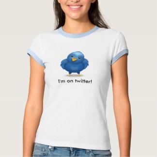Ich bin auf Twitter! Tshirt