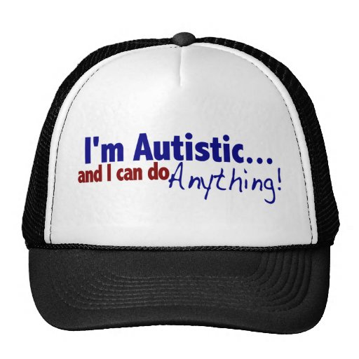 Ich bin autistisch retrokappe