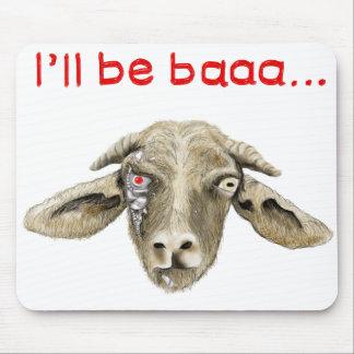 Ich bin baaa. lustiges Ziege meme mousemat Mauspads