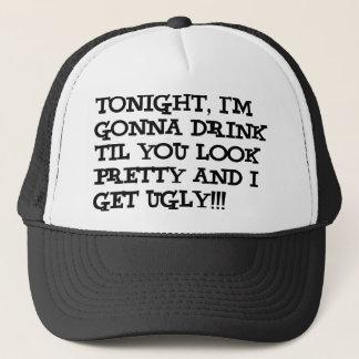 Ich bin betrunken truckerkappe