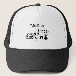 Ich bin betrunkener wenig truckerkappe