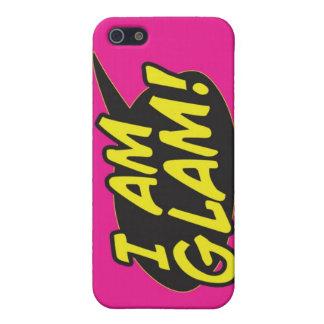 """""""Ich bin bezauberndes"""" rosa iPhone 4 iPhone 5 Etui"""