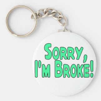 Ich bin brach schlüsselanhänger