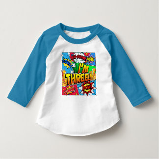 Ich bin Buch des Comic-drei T-Shirt