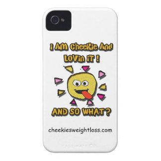 Ich bin cheekie und lovin es iPhone 4 cover