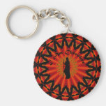 Ich bin Cherokee Standard Runder Schlüsselanhänger