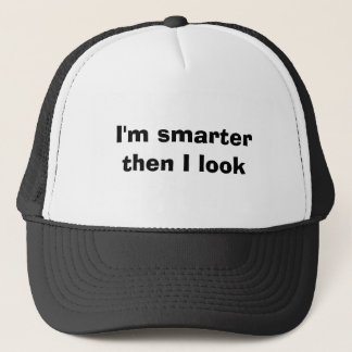 Ich bin dann ich schaue intelligenter truckerkappe