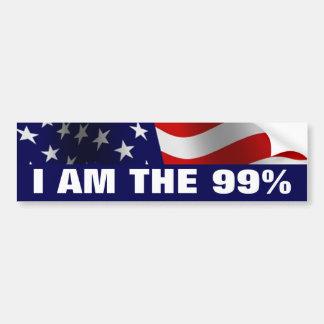 Ich bin das 99 Prozent Autoaufkleber
