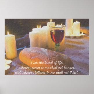 Ich bin das Brot des Leben-Plakats Poster