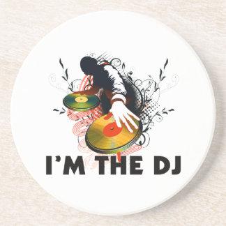 Ich bin das DJ Rockin die Turntable Getränkeuntersetzer