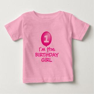 Ich bin das GEBURTSTAGS-MÄDCHEN-Shirt Baby T-shirt