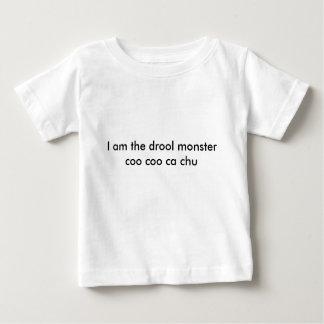 Ich bin das Geifermonster Baby T-shirt