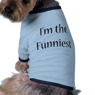 Ich bin das lustigste hund t shirt