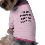 Ich bin DAS PRINCESSHERE SOMOVE ES!! Hundetshirts