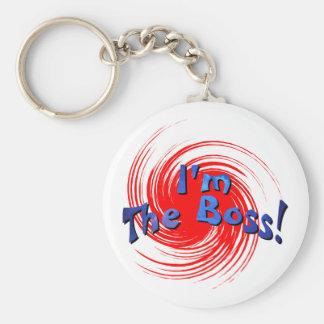 Ich bin der Chef Schlüsselanhänger