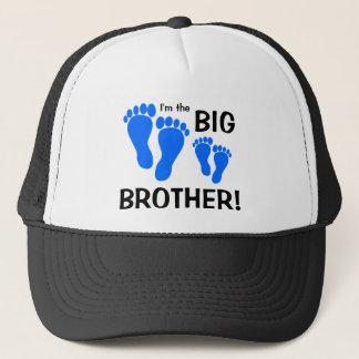 Ich bin der große Bruder - Abdrücke Truckerkappe