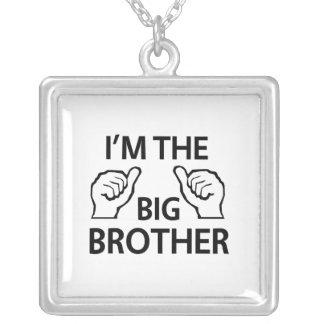 Ich bin der große Bruder Versilberte Kette