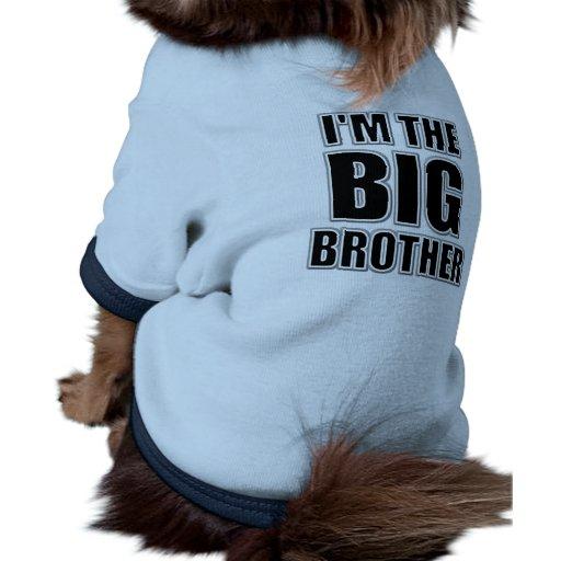 Ich bin der großer Bruder-HundeT - Shirt Hunde T Shirts