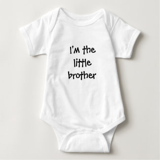 Ich bin der kleine Bruder Babybody
