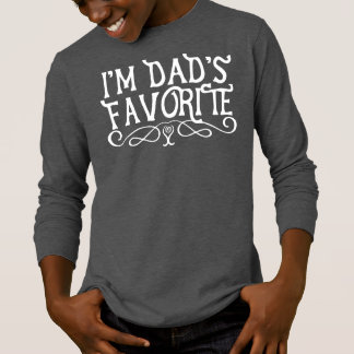 Ich bin der Lieblingssohn-Dunkelheit des Vatis T-Shirt