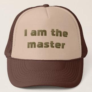 Ich bin der Meister Truckerkappe