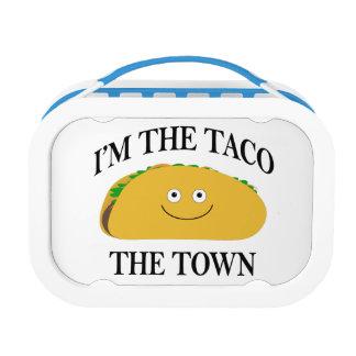 Ich bin der Taco die Stadt Brotdose