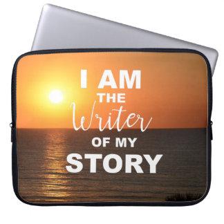 Ich bin der Verfasser meiner Geschichte, Laptopschutzhülle