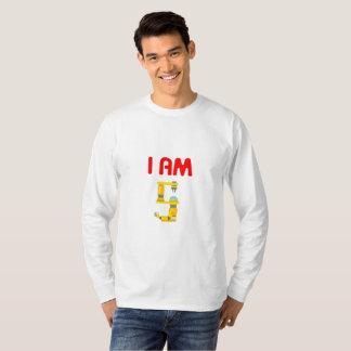 Ich bin die 5 Roboter-Evolutions-5. Geburtstag T-Shirt