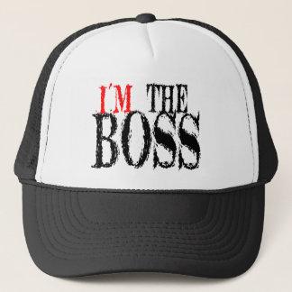 Ich bin die Chef-Kappe Truckerkappe