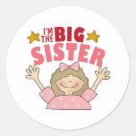 Ich bin die große Schwester-Aufkleber