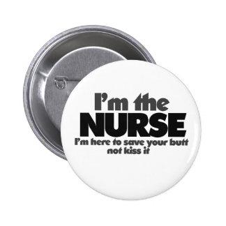 Ich bin die Krankenschwester Buttons