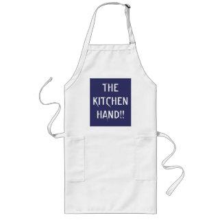 Ich bin die Küche Hand>Funny Redewendungen auf Lange Schürze