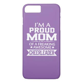 Ich bin die MAMMA EINER STOLZEN CHEERLEADER iPhone 8 Plus/7 Plus Hülle