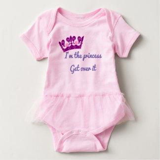 Ich bin die Prinzessin, erhalte über es Baby Strampler