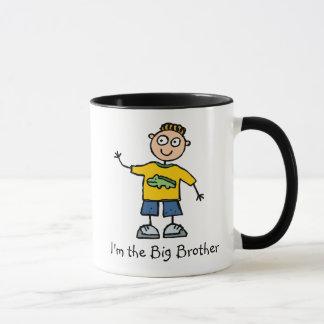 Ich bin die Tasse des großen Bruders